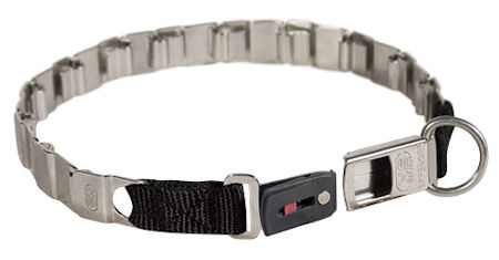 19 inch NECK TECH FUN STAINLESS STEEL dog collar